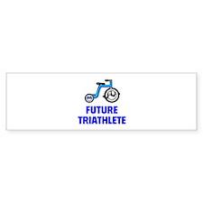 Future Triathlete Bumper Sticker