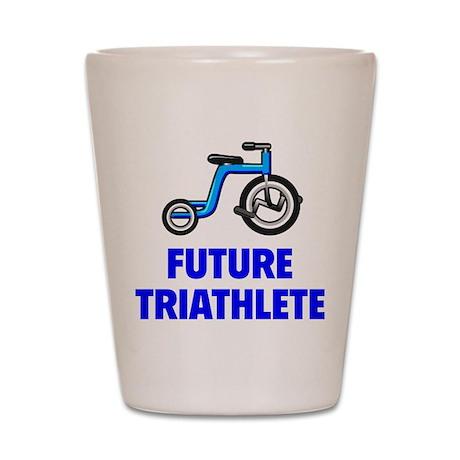 Future Triathlete Shot Glass