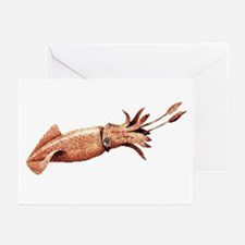Squid Greeting Cards (Pk of 10)