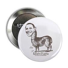 "Barack O'Llama 2.25"" Button (10 pack)"