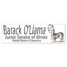 Barack O'Llama Bumper Bumper Sticker