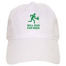 Will Run For Beer Hat