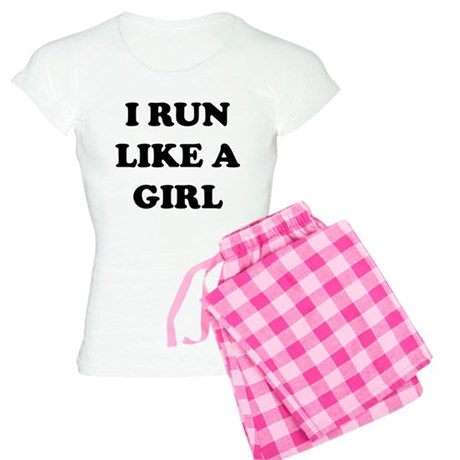 I Run Like A Girl Women's Light Pajamas
