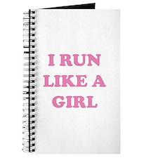 I Run Like A Girl Journal