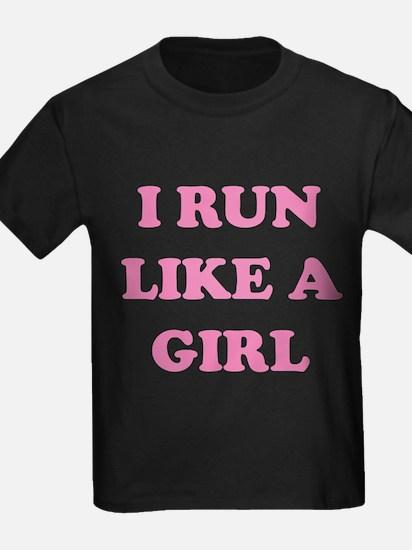 I Run Like A Girl T