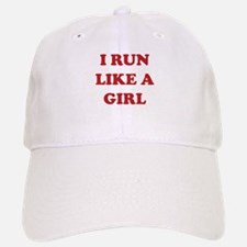 I Run Like A Girl Hat