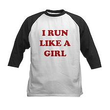 I Run Like A Girl Tee