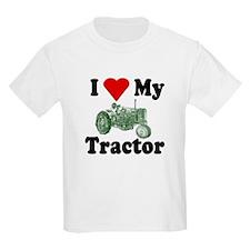 I Love My Tractor Kids T-Shirt