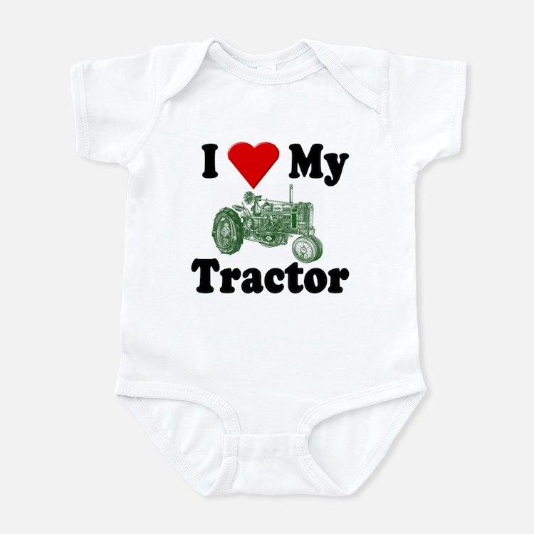 I Love My Tractor Infant Creeper