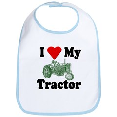 I Love My Tractor Bib