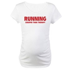 Running Cheaper Than Therapy Shirt