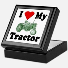 I Love My Tractor Keepsake Box