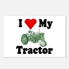 I Love My Tractor Postcards (Package of 8)