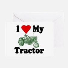 I Love My Tractor Greeting Cards (Pk of 10)