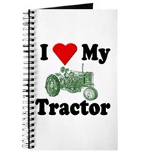 I Love My Tractor Journal