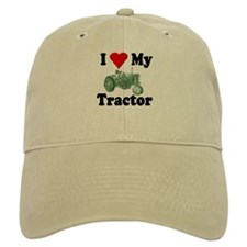 I Love My Tractor Baseball Cap