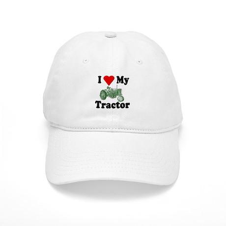 I Love My Tractor Cap