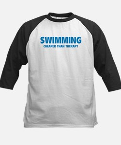 Swimming Cheaper Than Therapy Tee