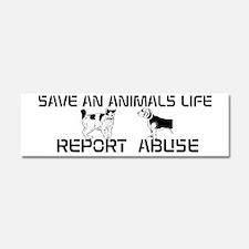 Stop Animal Abuse magnet
