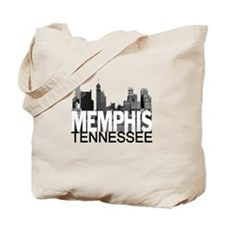 Memphis Skyline Tote Bag