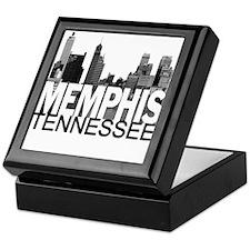 Memphis Skyline Keepsake Box