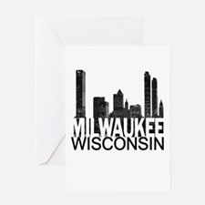 Milwaukee Skyline Greeting Card