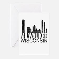 Milwaukee Skyline Greeting Cards (Pk of 10)