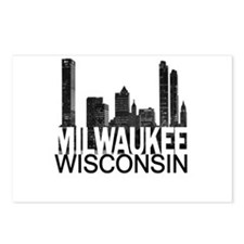 Milwaukee Skyline Postcards (Package of 8)