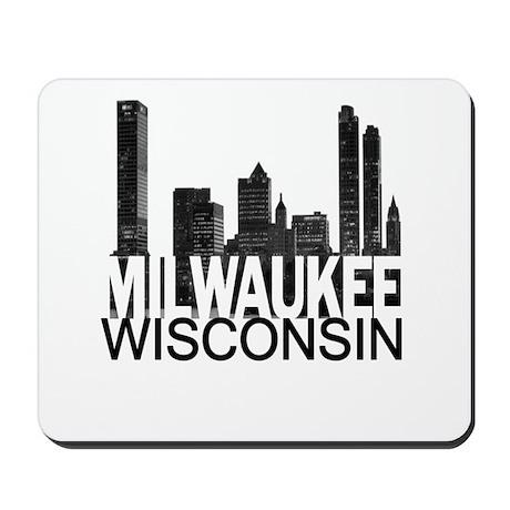 Milwaukee Skyline Mousepad