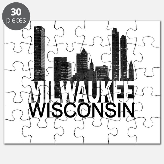 Milwaukee Skyline Puzzle