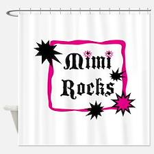 Mimi Rocks Shower Curtain