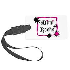 Mimi Rocks Luggage Tag