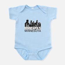 Minneapolis Skyline Infant Bodysuit
