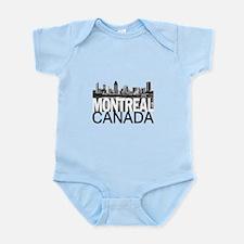 Montreal Skyline Infant Bodysuit
