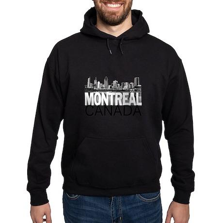 Montreal Skyline Hoodie (dark)