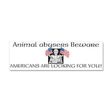 Americans against abuse bumper magnet