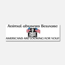 Americans against abuse bumper magnet