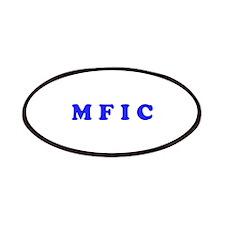 M F I C Merchandise Patches