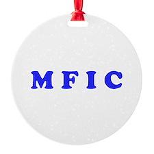 M F I C Merchandise Ornament
