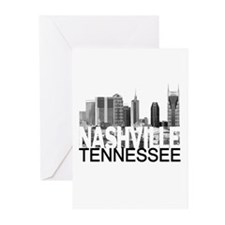 Nashville Skyline Greeting Cards (Pk of 20)
