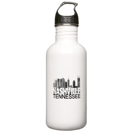 Nashville Skyline Stainless Water Bottle 1.0L