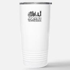 Nashville Skyline Stainless Steel Travel Mug