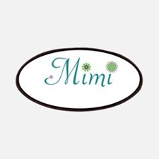 Mimi Green Flowers Patches