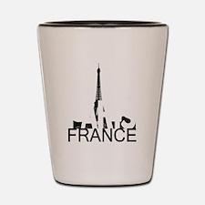 Paris Skyline Shot Glass