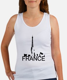 Paris Skyline Women's Tank Top