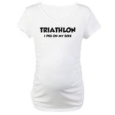 Triathlon I Pee On My Bike Shirt