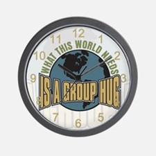 What this World Needs Wall Clock