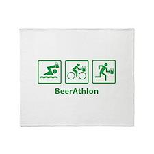 BeerAthlon Throw Blanket