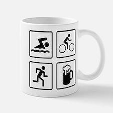 Swim Bike Run Drink Small Small Mug