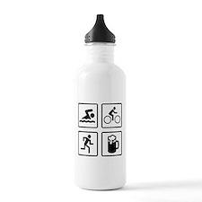 Swim Bike Run Drink Sports Water Bottle